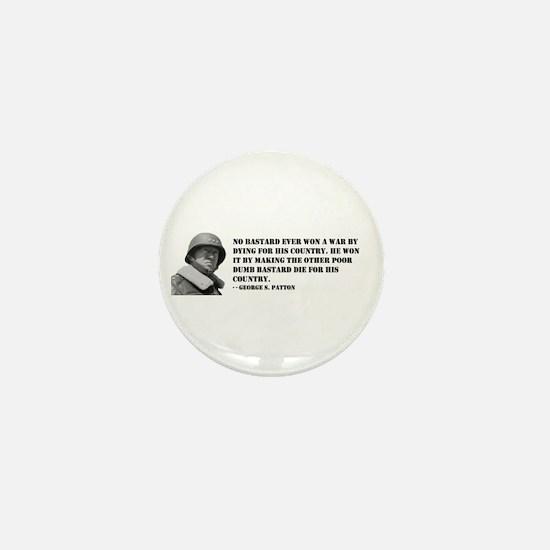 Patton Quote - Die Mini Button