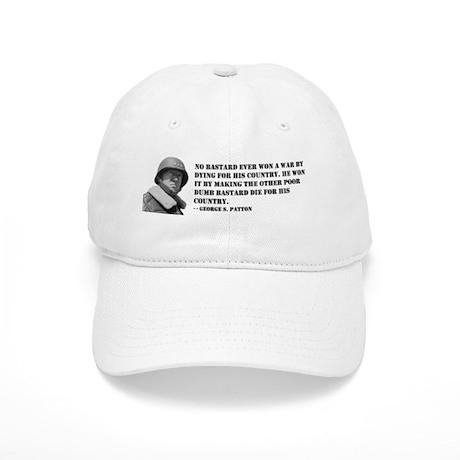 Patton Quote - Die Cap