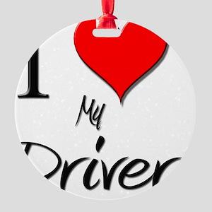Driver59 Round Ornament
