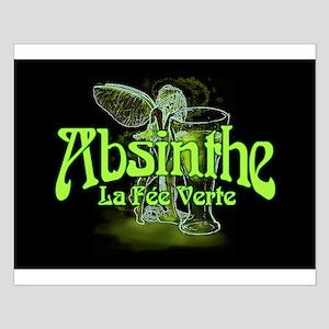 Absinthe Fairy Dark Posters