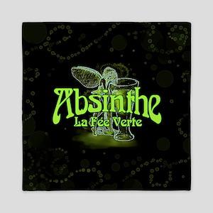 Absinthe Fairy Dark Queen Duvet