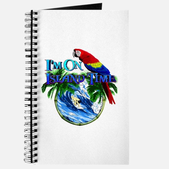 Island Time Parrot Journal