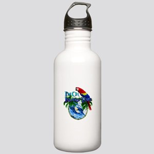 Island Time Parrot Water Bottle