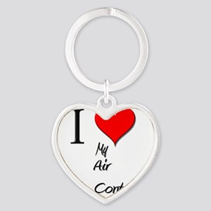 Air-Traffic-Controll15 Heart Keychain