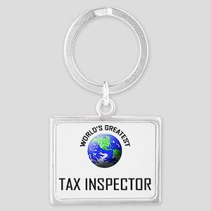 TAX-INSPECTOR36 Landscape Keychain