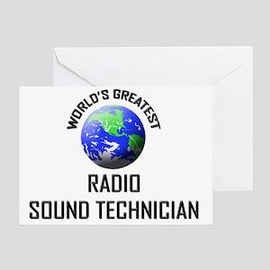 RADIO-SOUND-TECHNICI132 Greeting Card