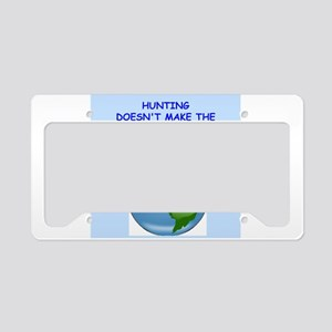 hunting License Plate Holder