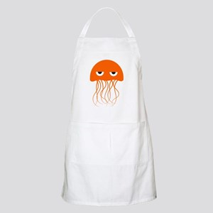 Orange Jellyfish Apron