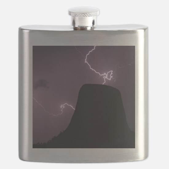 Spacetime Lights Up Flask