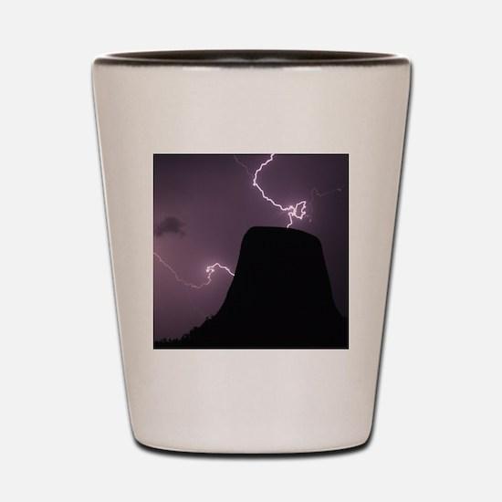 Spacetime Lights Up Shot Glass