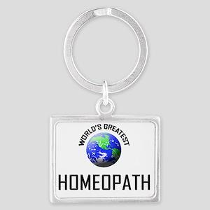 HOMEOPATH101 Landscape Keychain