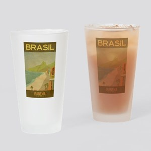 Brazil, Ipanema,Beach,Travel, Vintage Poster Drink