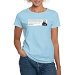 John Adams Quotes - Study War Women's Pink T-Shirt