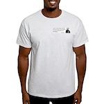 John Adams Quotes - Study War Ash Grey T-Shirt