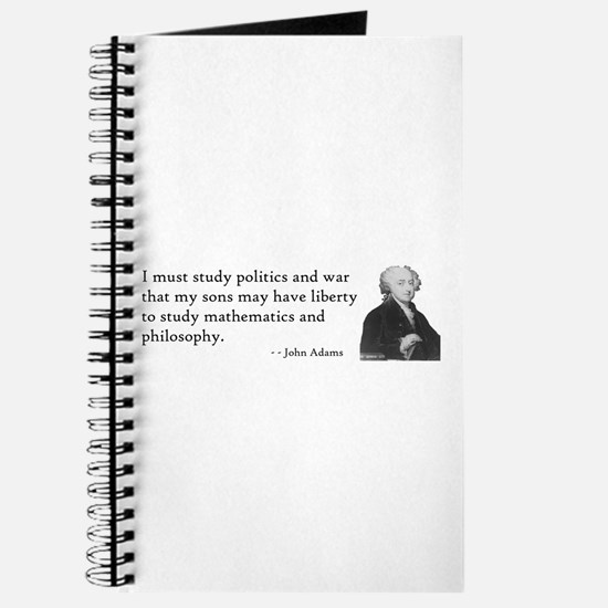 John Adams Quotes - Study War Journal