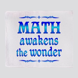 Math Awakens Throw Blanket