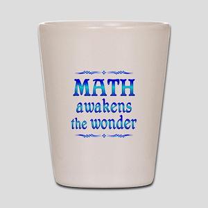 Math Awakens Shot Glass