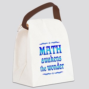 Math Awakens Canvas Lunch Bag