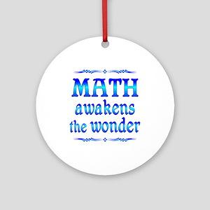 Math Awakens Ornament (Round)
