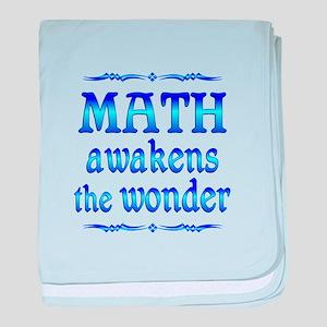 Math Awakens baby blanket