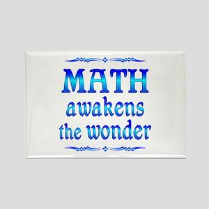 Math Awakens Rectangle Magnet