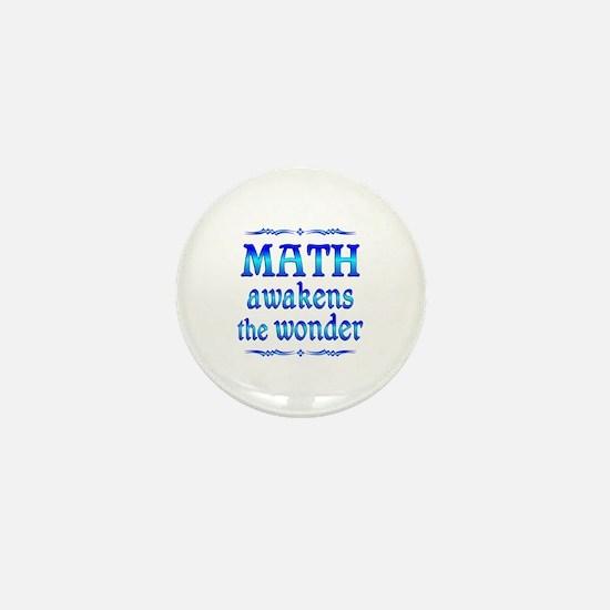 Math Awakens Mini Button