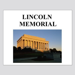 lincoln memorial washington g Small Poster