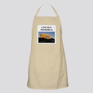 lincoln memorial washington g BBQ Apron