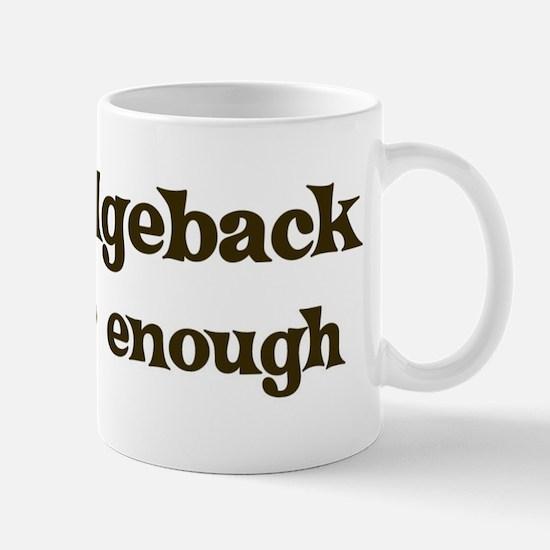 One Ridgeback Mug