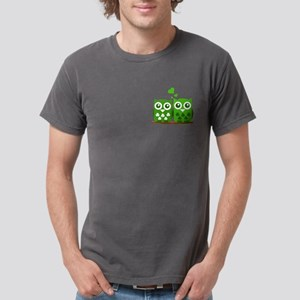 Green Owls Mens Comfort Colors Shirt
