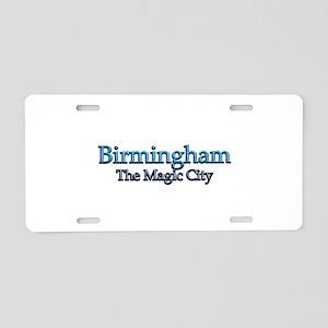 Birmingham, The Magic City 2 Aluminum License Plat