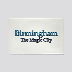 Birmingham, The Magic City 2 Rectangle Magnet (10