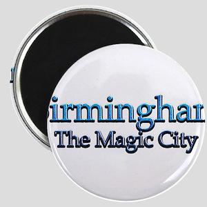 """Birmingham, The Magic City 2 2.25"""" Magnet (10 pack"""