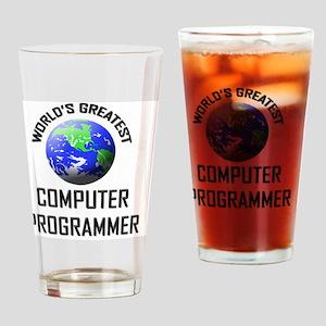 COMPUTER-PROGRAMMER55 Drinking Glass