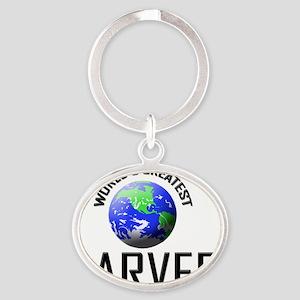 CARVER99 Oval Keychain