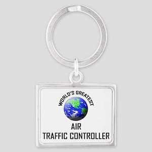 AIR-TRAFFIC-CONTROLL65 Landscape Keychain