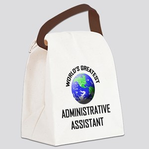 ADMINISTRATIVE-ASSIS124 Canvas Lunch Bag