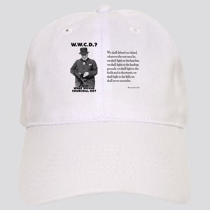 What Would Churchill Do - Never Surrender Cap