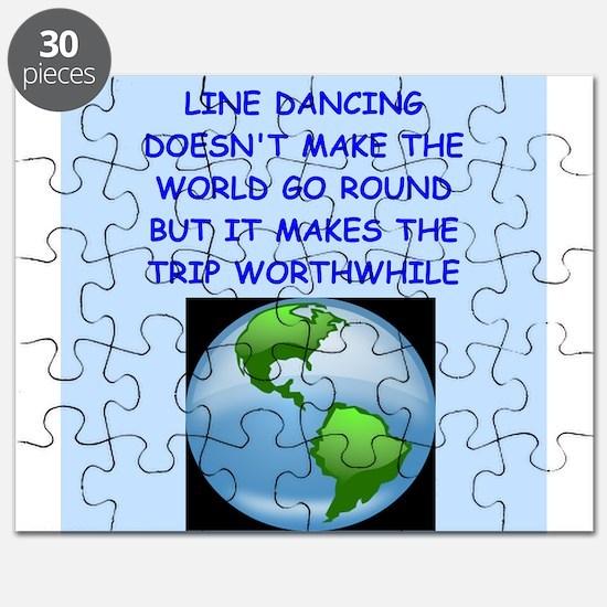 line dancing Puzzle