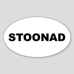 Stoonad Oval Sticker