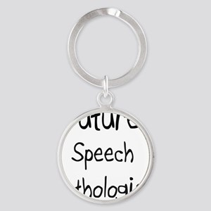 Speech-Pathologist48 Round Keychain