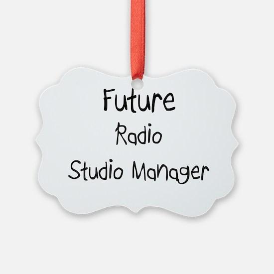 Radio-Studio-Manager95 Ornament