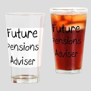 Pensions-Adviser65 Drinking Glass
