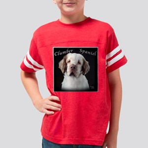 Clumber Spaniel Youth Football Shirt