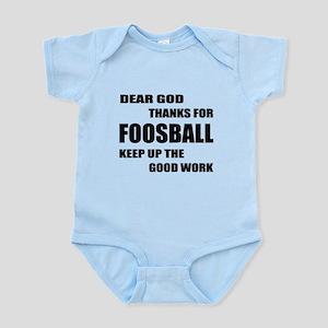 Dear god thanks for Foosball Keep Infant Bodysuit