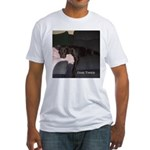 dog tired Fitted T-Shirt