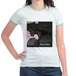 dog tired Jr. Ringer T-Shirt