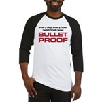 The Bends Bullet proof black and red Baseball Jers