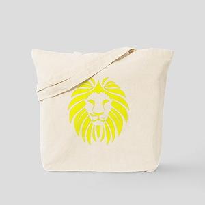 Yellow Lion Mane Tote Bag