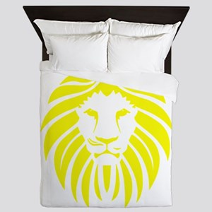 Yellow Lion Mane Queen Duvet